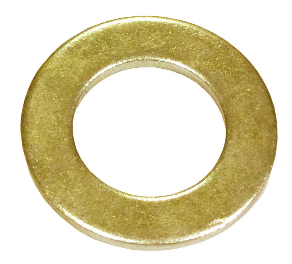 5 rondelles étroites laiton 10mm
