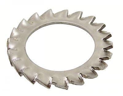 10 rondelles à entretoises inox A4 6mm