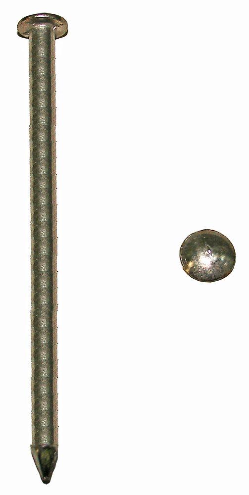 50g pointes tête plate inox A2 2.4x37mm