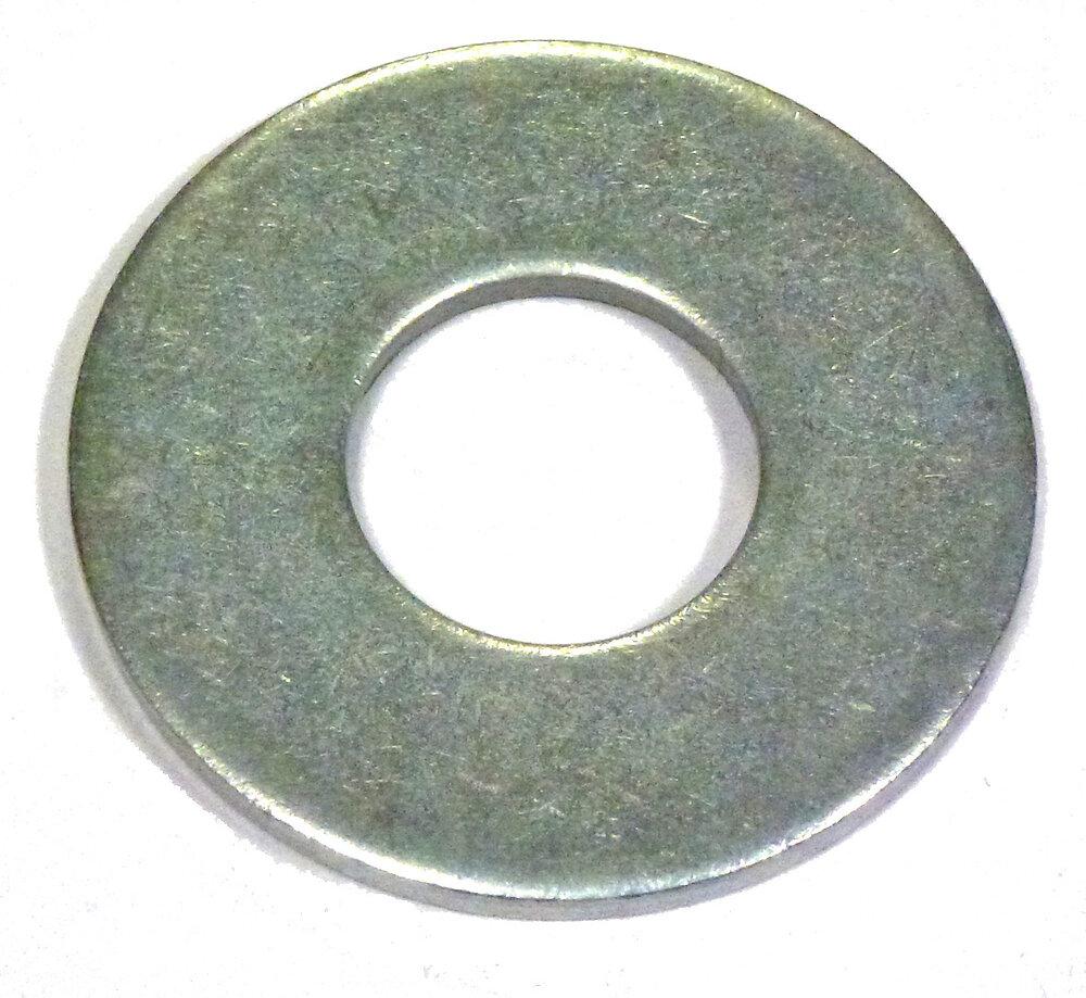 3 rondelles plates larges acier zingué 20mm
