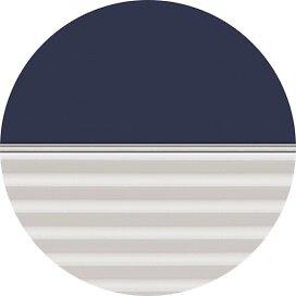 Store duo occultant beige + plissé blanc DFD UK04 1100S