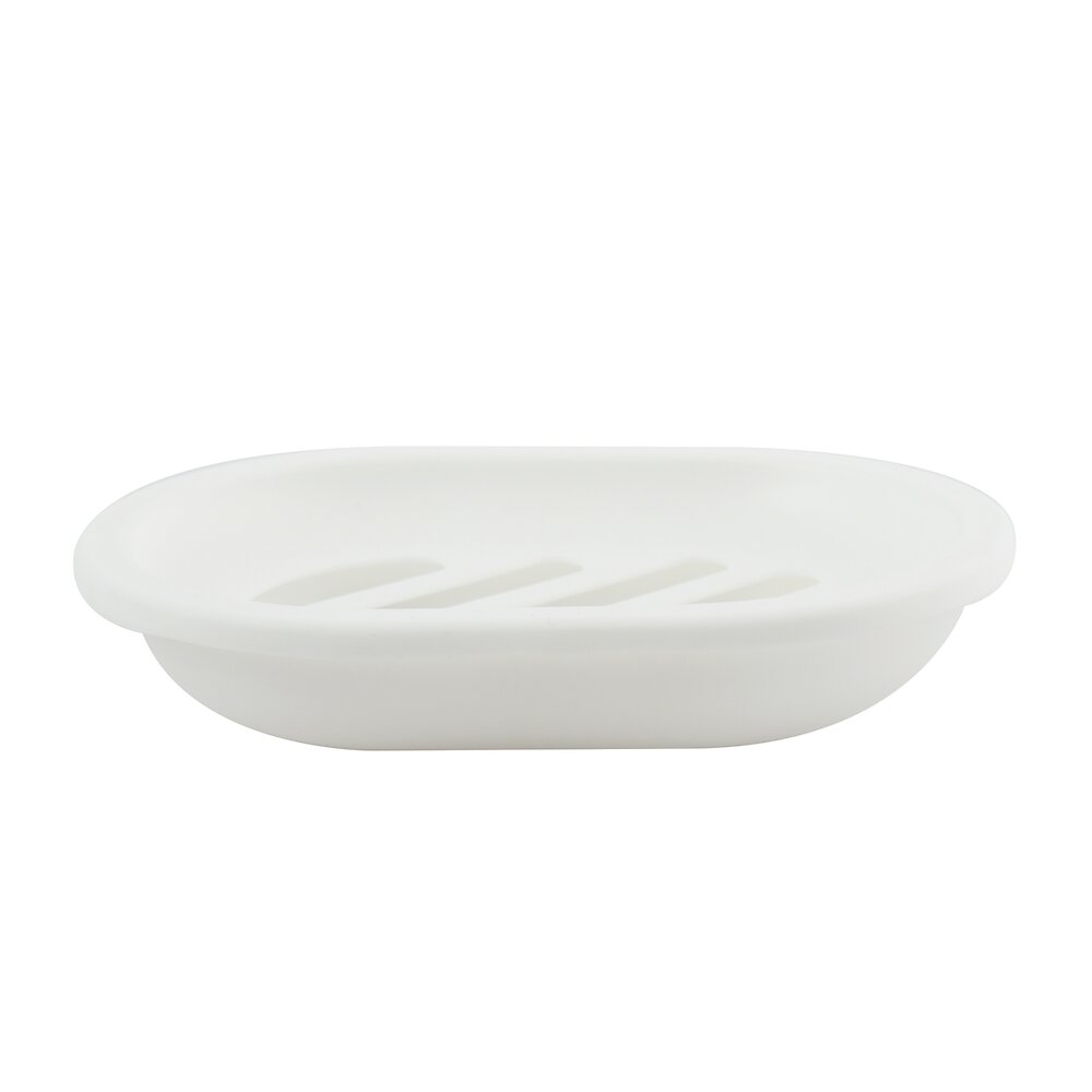 Porte-savon blanc, polypropylène