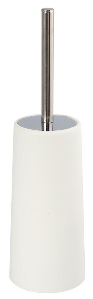 Brosse WC et support blanc