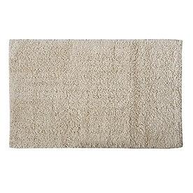 Tapis coton L.70x45cm, écru