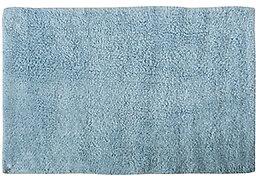 Tapis coton L.70x45cm, bleu ciel