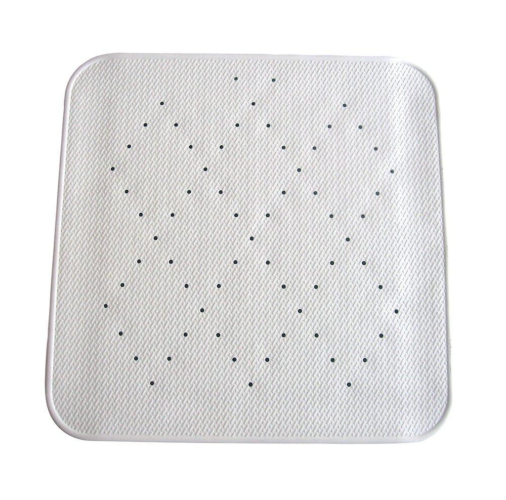 Fond de douche design L.54xl.54cm, blanc