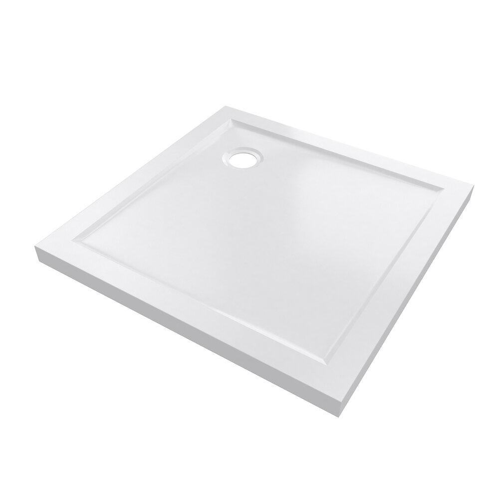 Receveur pure 2 acrylique 80x80cm