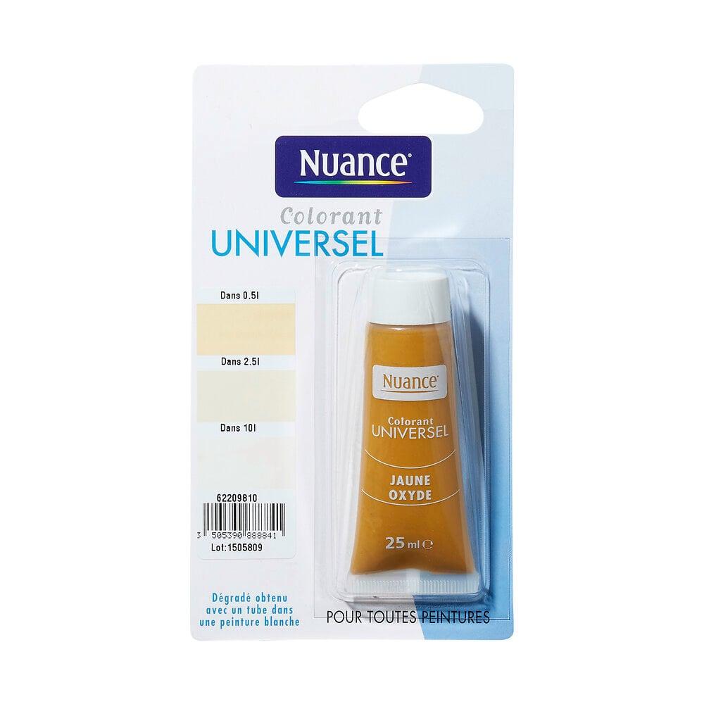 Colorant universel jaune oxyde 25ml