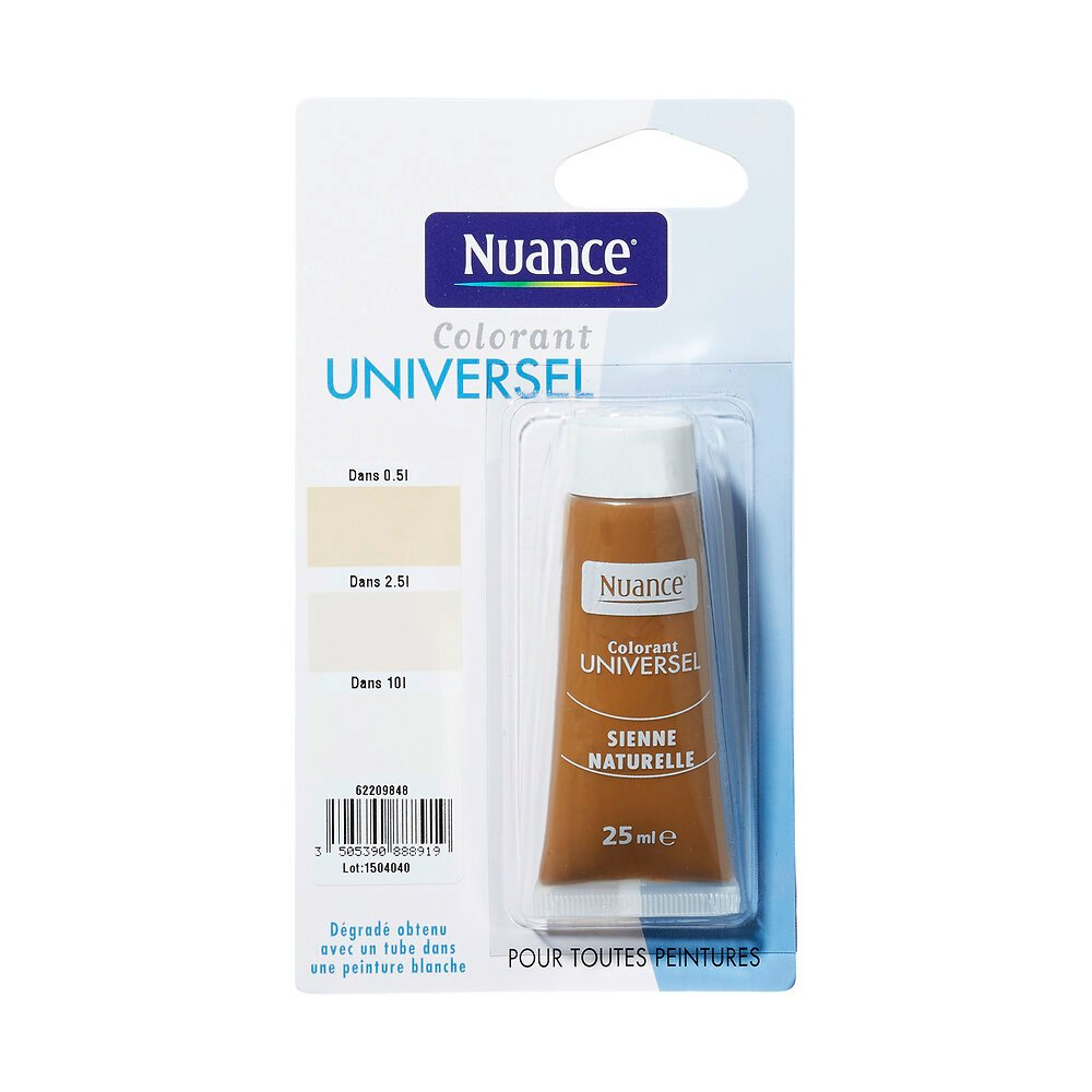 Colorant universel sienne naturelle 25ml
