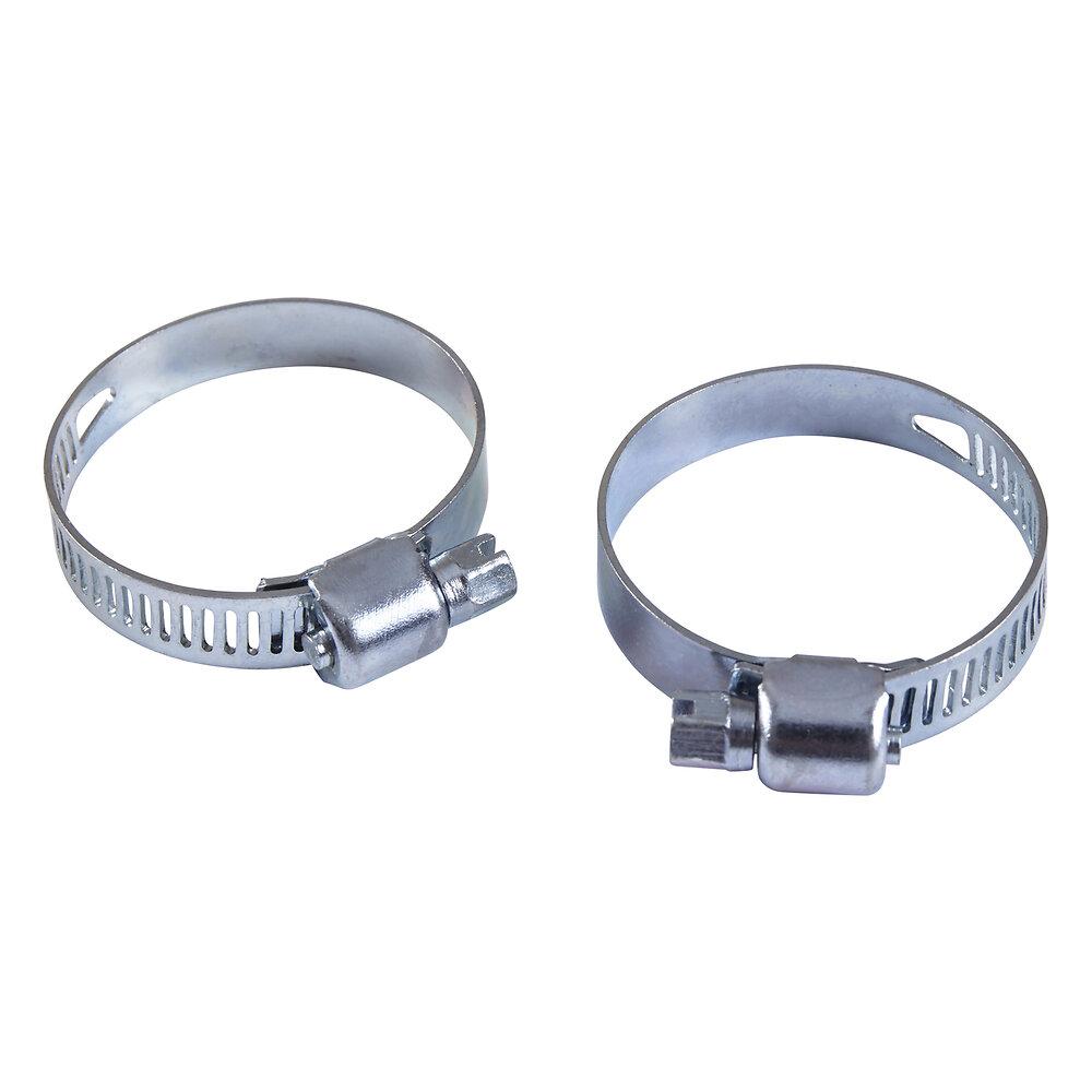 2 collier acier largeur 8mm serrage 24/36 pour tuyau diamètre 25mm