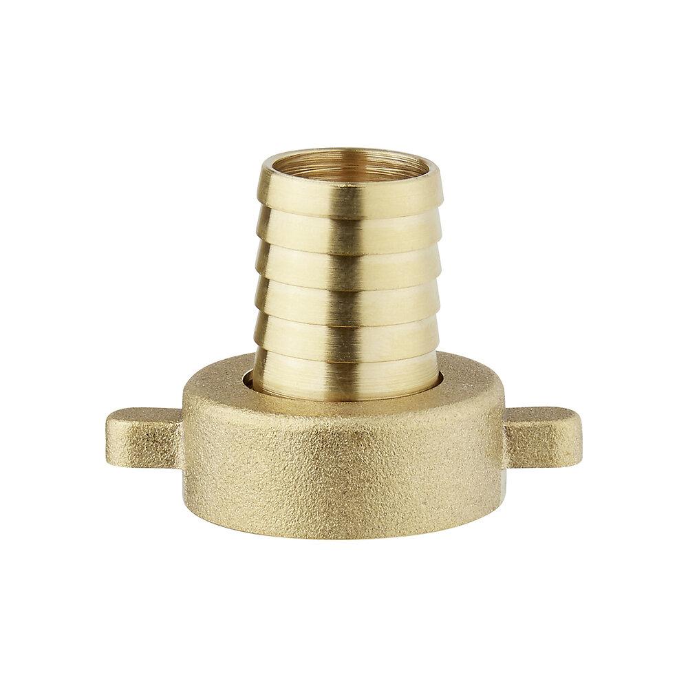Nez de robinet femelle 26x34mm pour tuyau 19mm