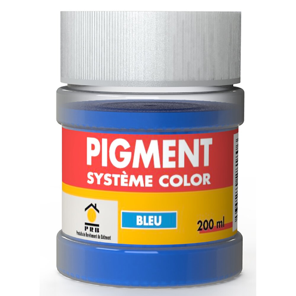 Pigments système couleur bleu 200ml