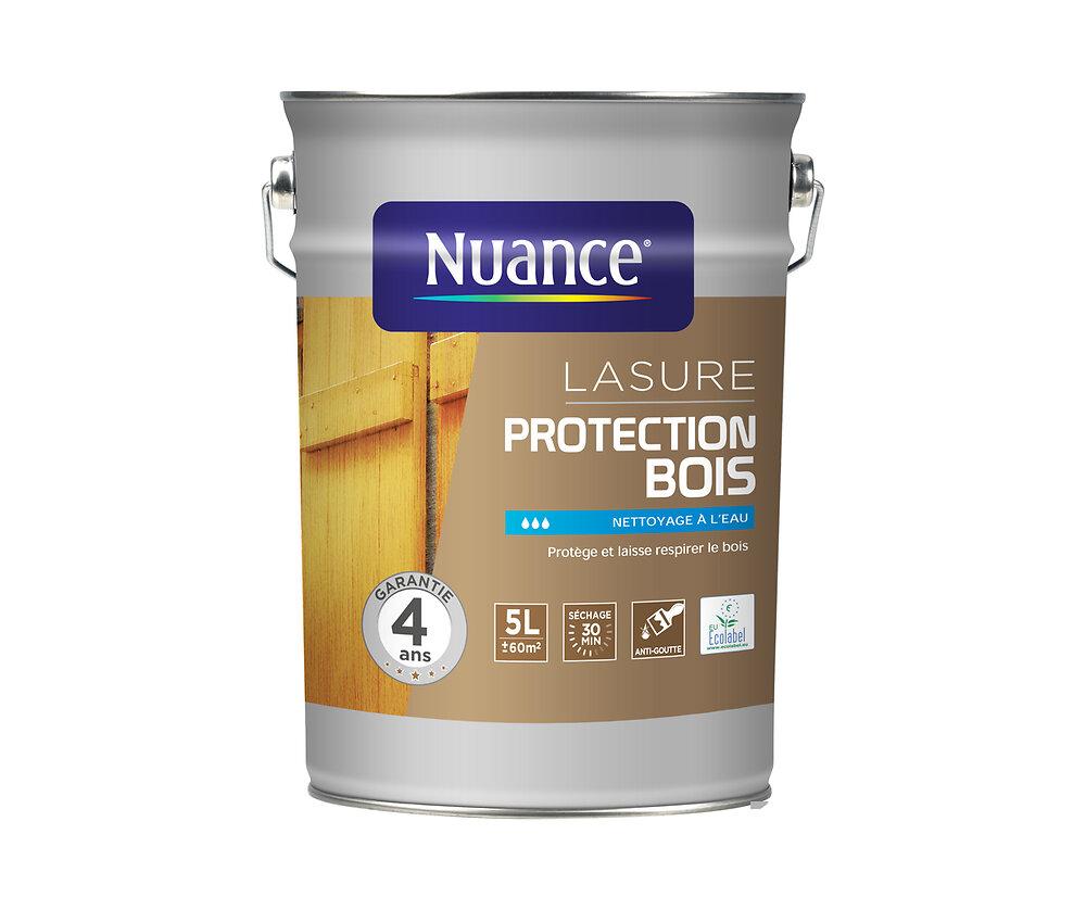 Lasure protection bois incolore 5L