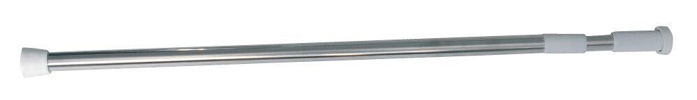 Barre de douche droite extensible L.70-120cm, inox