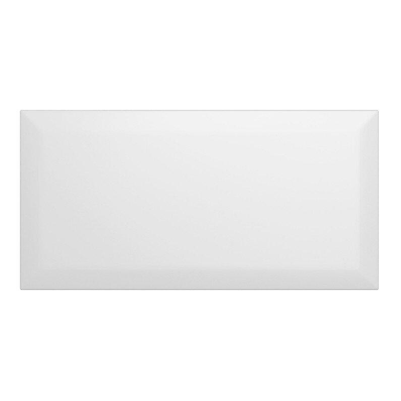 Faience 10X20 metro blanc 0.8m
