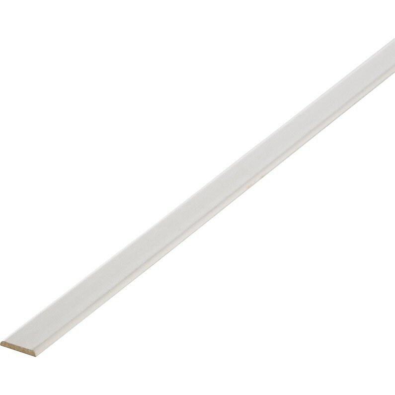 Champlat revêtu 2 arrondis blanc 5x30/2.40m/PEFC 70%