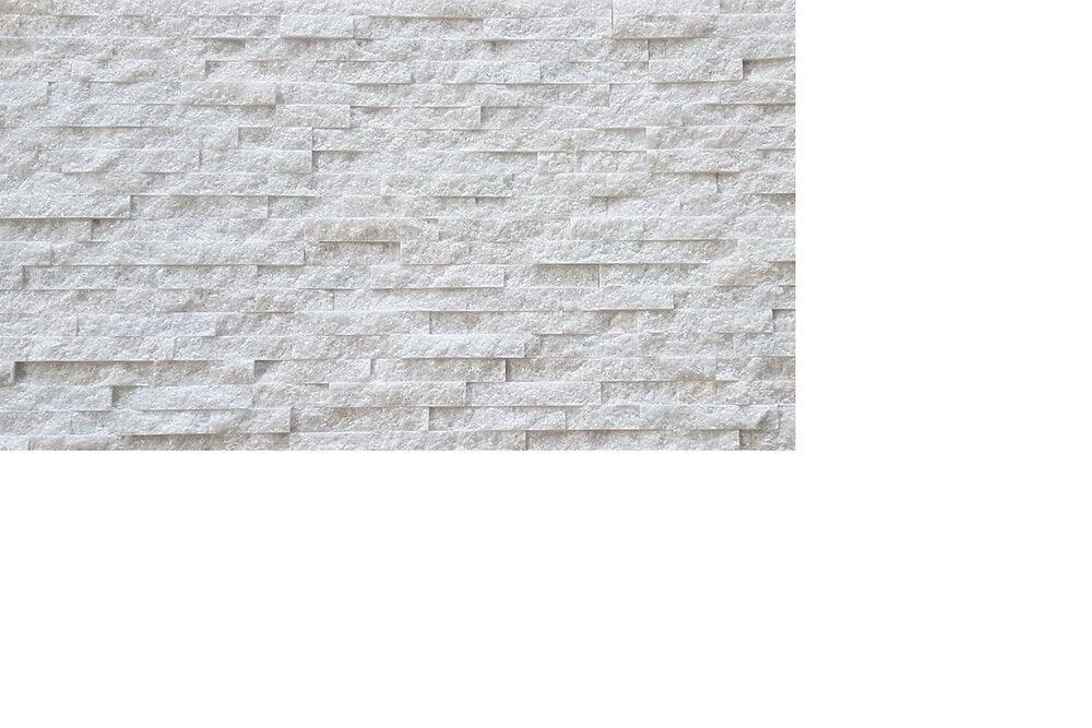 Plaquette de parement Pierre Naturelle NATIMUR WHITE