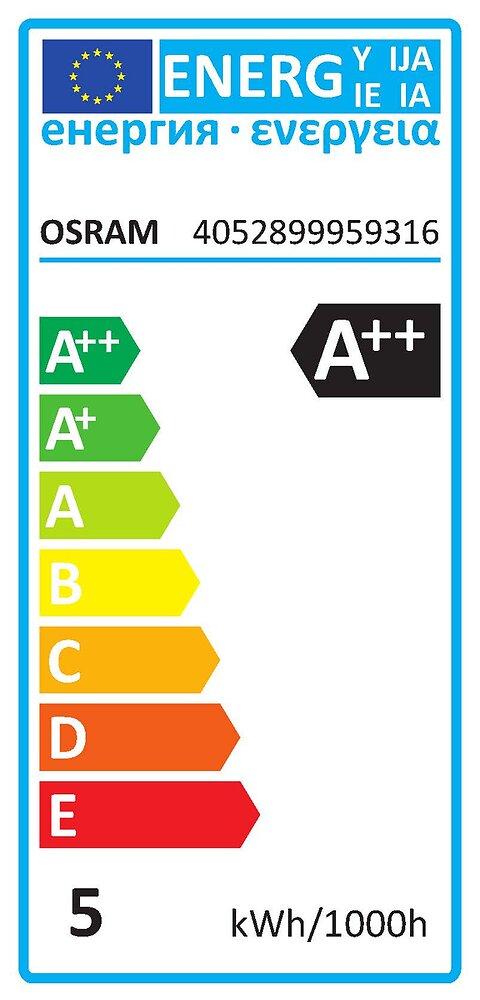 Ampoule led retrofit sphérique dépolie 5W=40W E14 blanc chaud