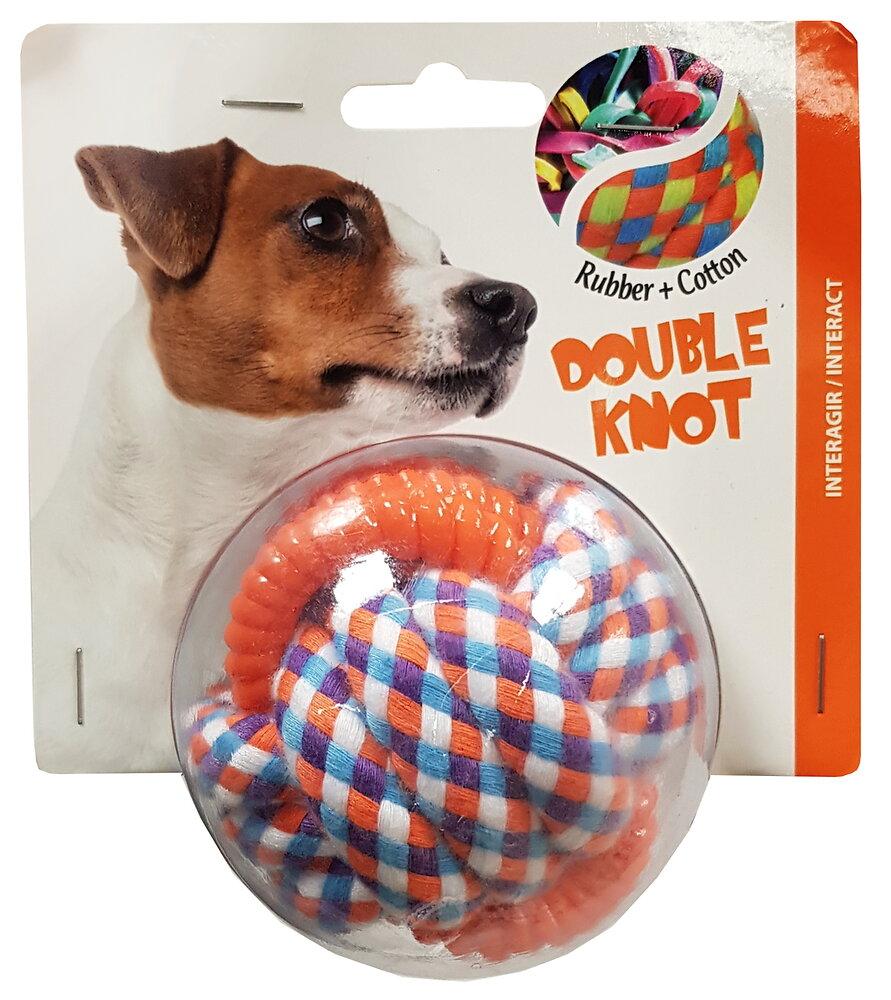 Jouet pour chien TWIST ROPE balle et corde 7.5cm