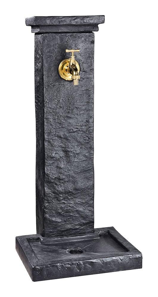 Fontaine Borne à l'aspect véritable de l'ardoise schiste naturelle