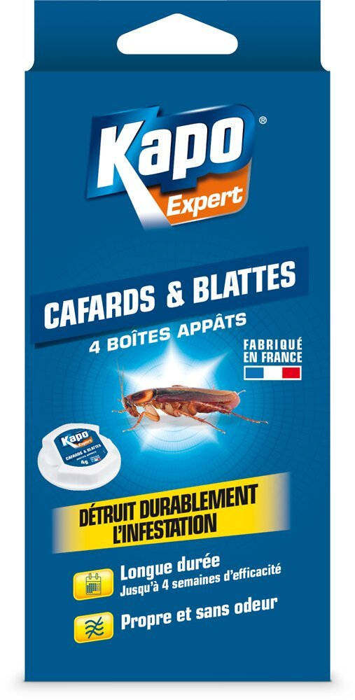 Insecticide Cafards-Blattes x4 Appâts