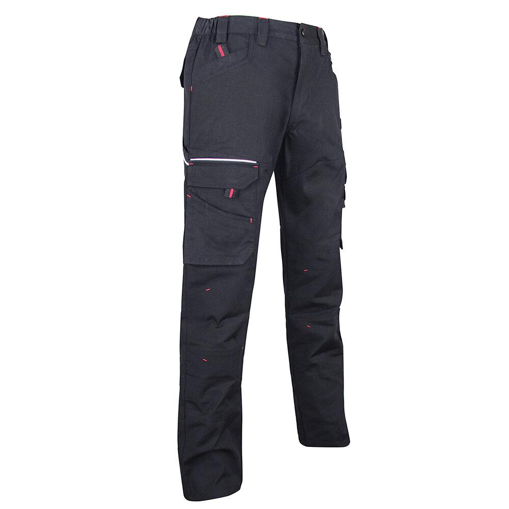 Pantalon Basalte tissu canvas noir T44