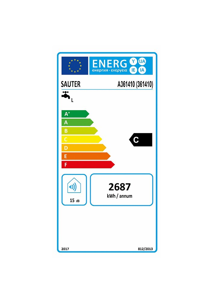 Chauffe-eau 100L VM mono Essentiel ACI Hybride Elect 230 V