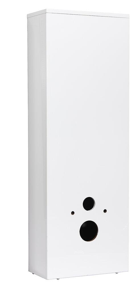 Coffrage WC blanc 1230x475x241cm