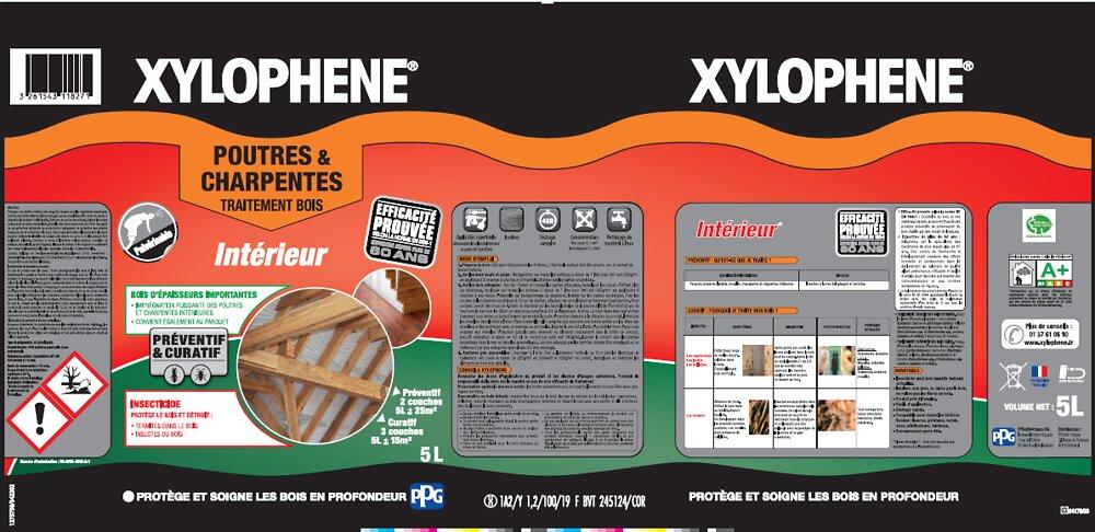 Traitement poutres-charpentes Pot 5l expertise 60 ans