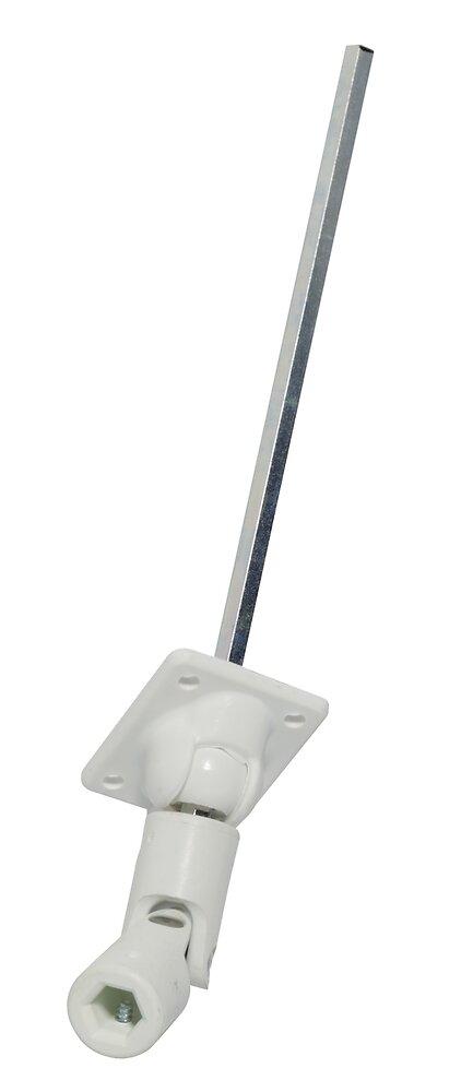 Sortie caisson 45 degrés hex 7mm pour volet roulant
