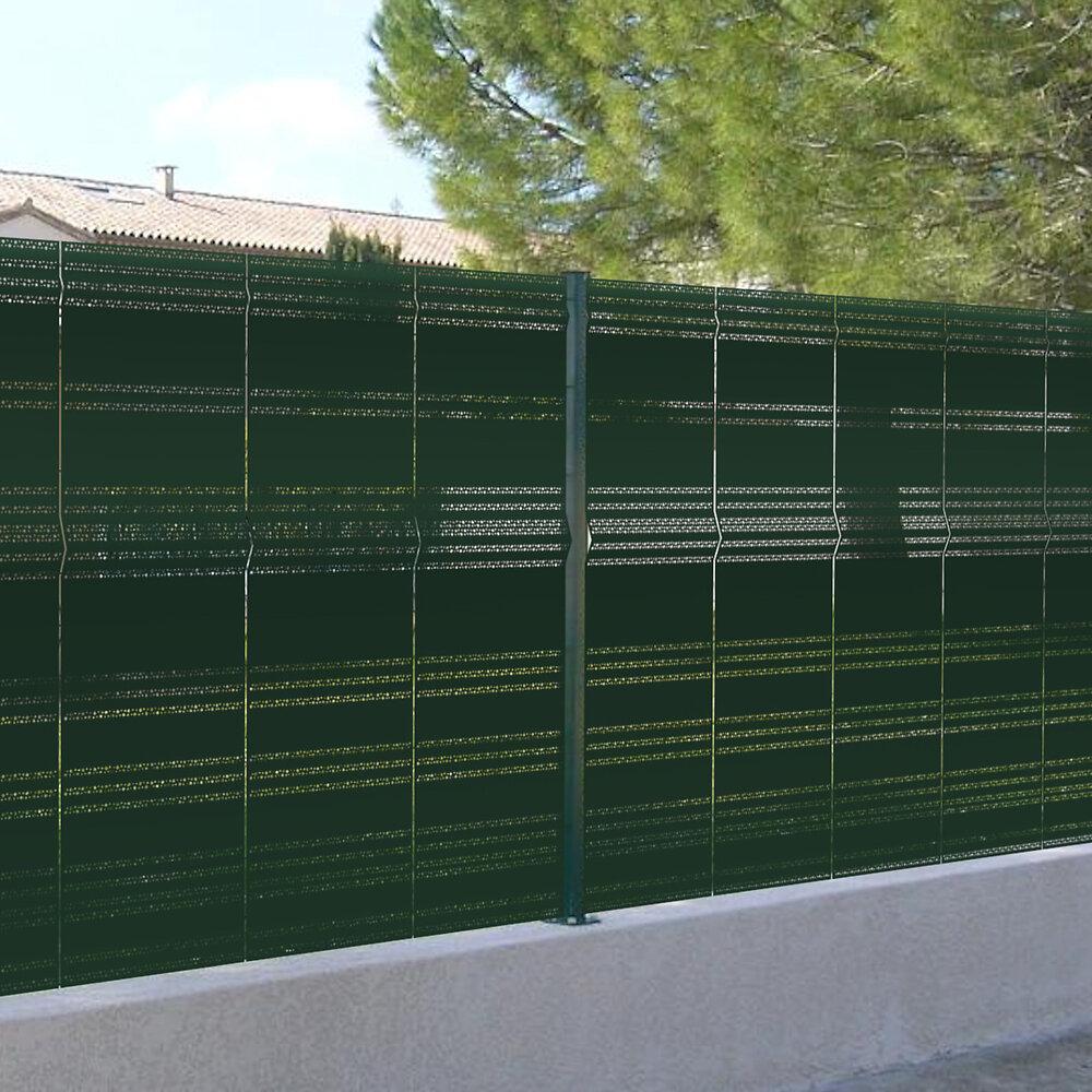 Occultant rigide à fixer sur clôture