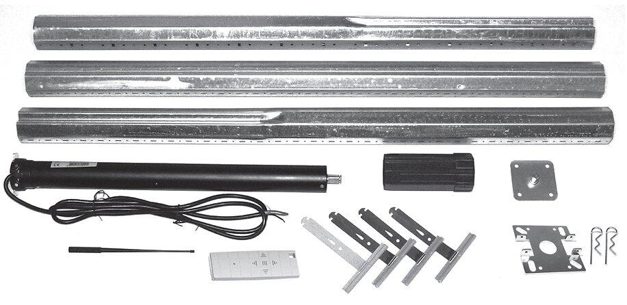 Kit moteur radio 30N.m tube ajustable - volet roulant