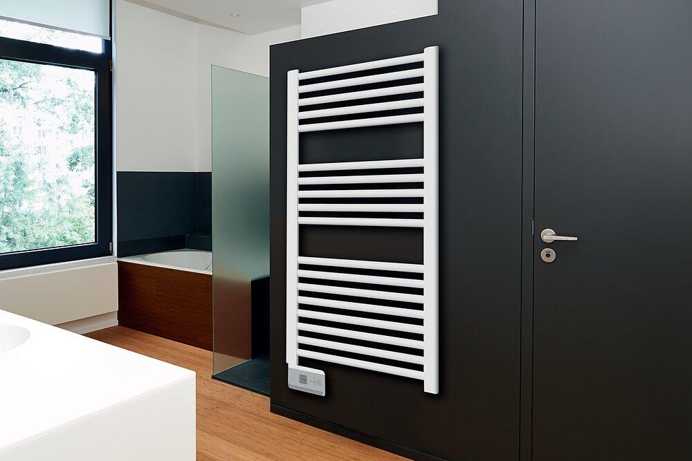 Sèche-serviettes électrique droit 500W