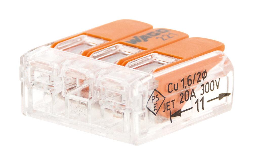 Lot de 40 mini bornes automatiques 3 entrées à cliquet S221