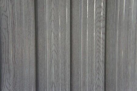 Abri de jardin métal bois vieilli 1014 CHALET & JARDIN