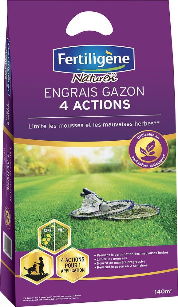 Engrais gazon 4 actions 5.6kg