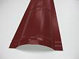 Faîtière brun/rouge pour panneau tuiles acier 210cm