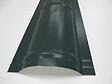 Faîtière anthracite pour panneau tuiles acier 210cm