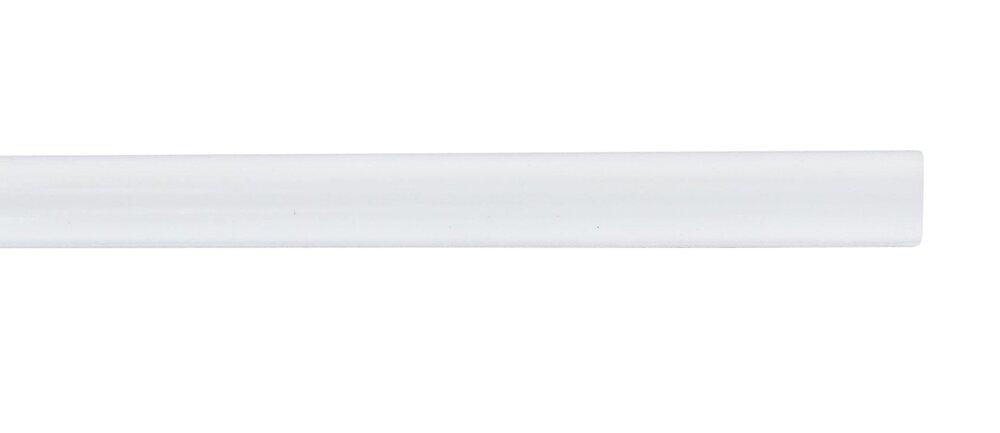 Penderie barre diamètre 16mm longueur 200cm blanc