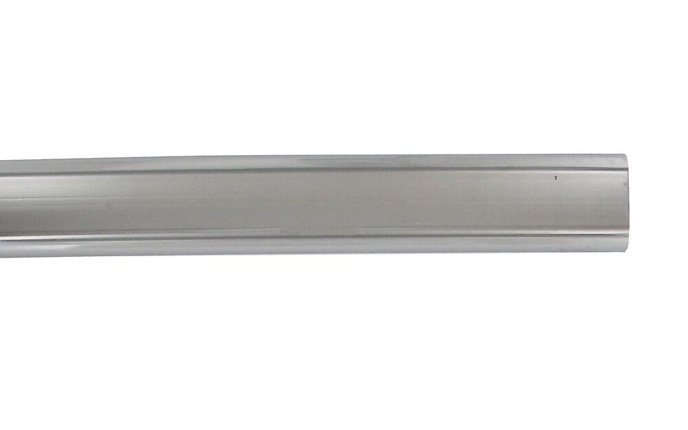 Penderie barre ovale 30x15mm longueur 100cm chrome