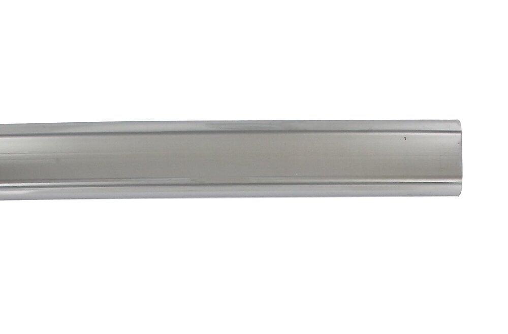 Penderie barre ovale 30x15mm longueur 150cm chrome