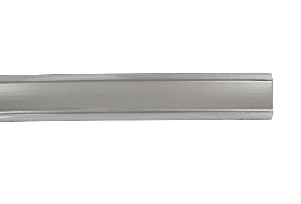 Penderie barre ovale 30x15mm longueur 200cm chrome