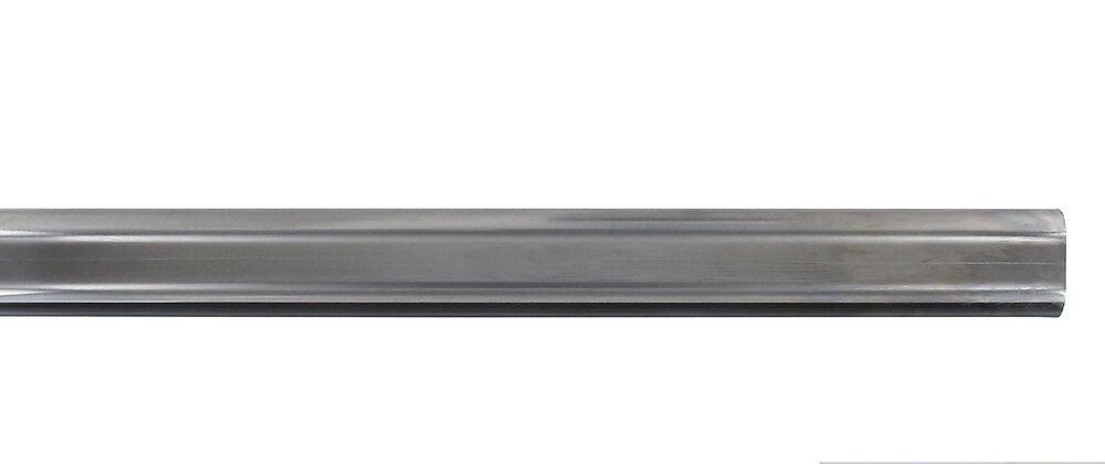 Penderie barre ovale 22x15mm longueur 100cm chrome