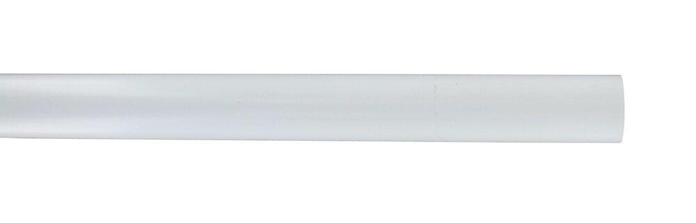 Penderie barre diamètre 25mm longueur 200cm blanc