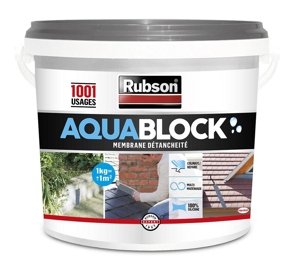 Aquablock Revêtement d'étanchéité Toitures Gris 1kg