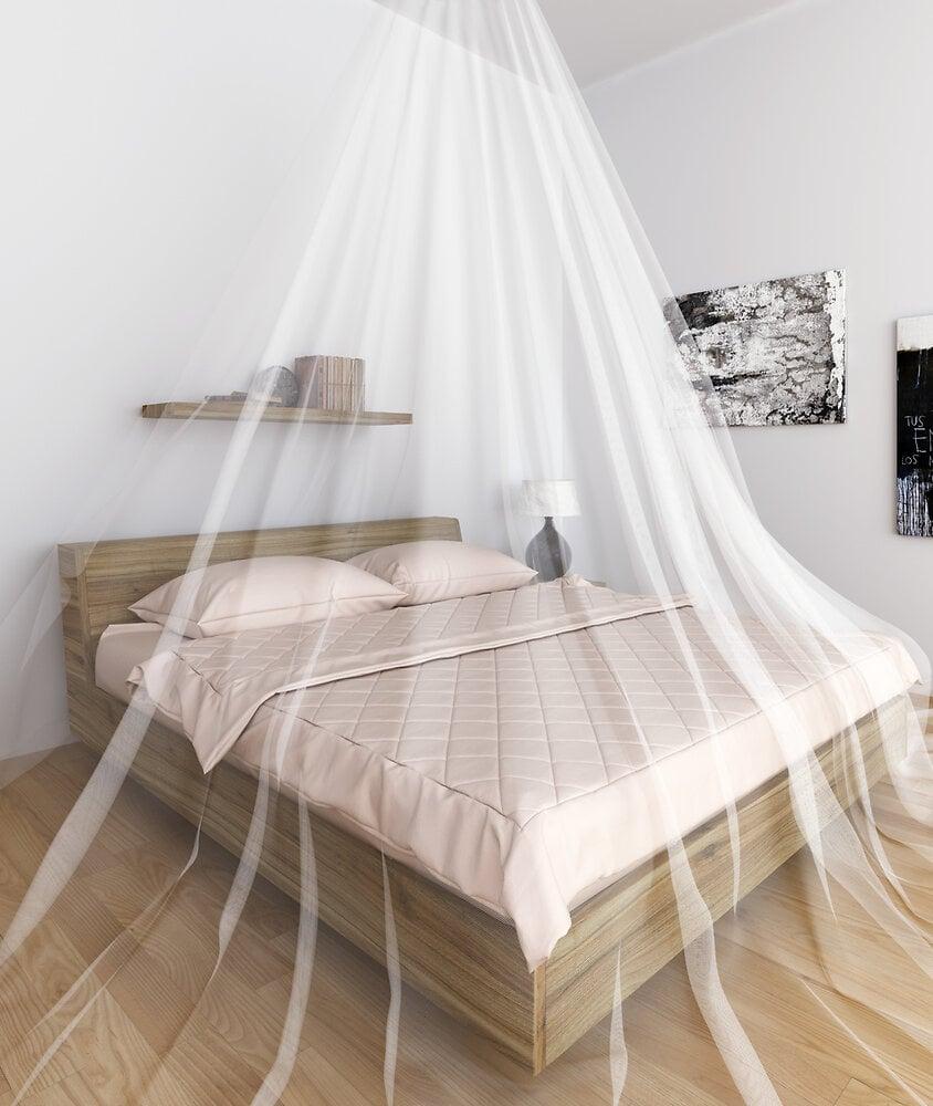 Moustiquaire ciel de lit double 250x125cm