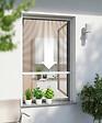 Enrouleur moustiquaire fenêtre alu blanc 100x160cm