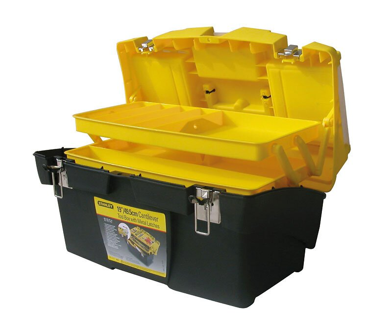 Boîte à outils jumbo cantilever 48cm STANLEY