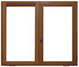 Fenêtre exo 105x120cm 2 vantaux