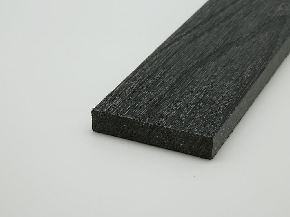 Bandeau de finition 200x5.2x1cm Charcoal terrasse composite co-extrudé